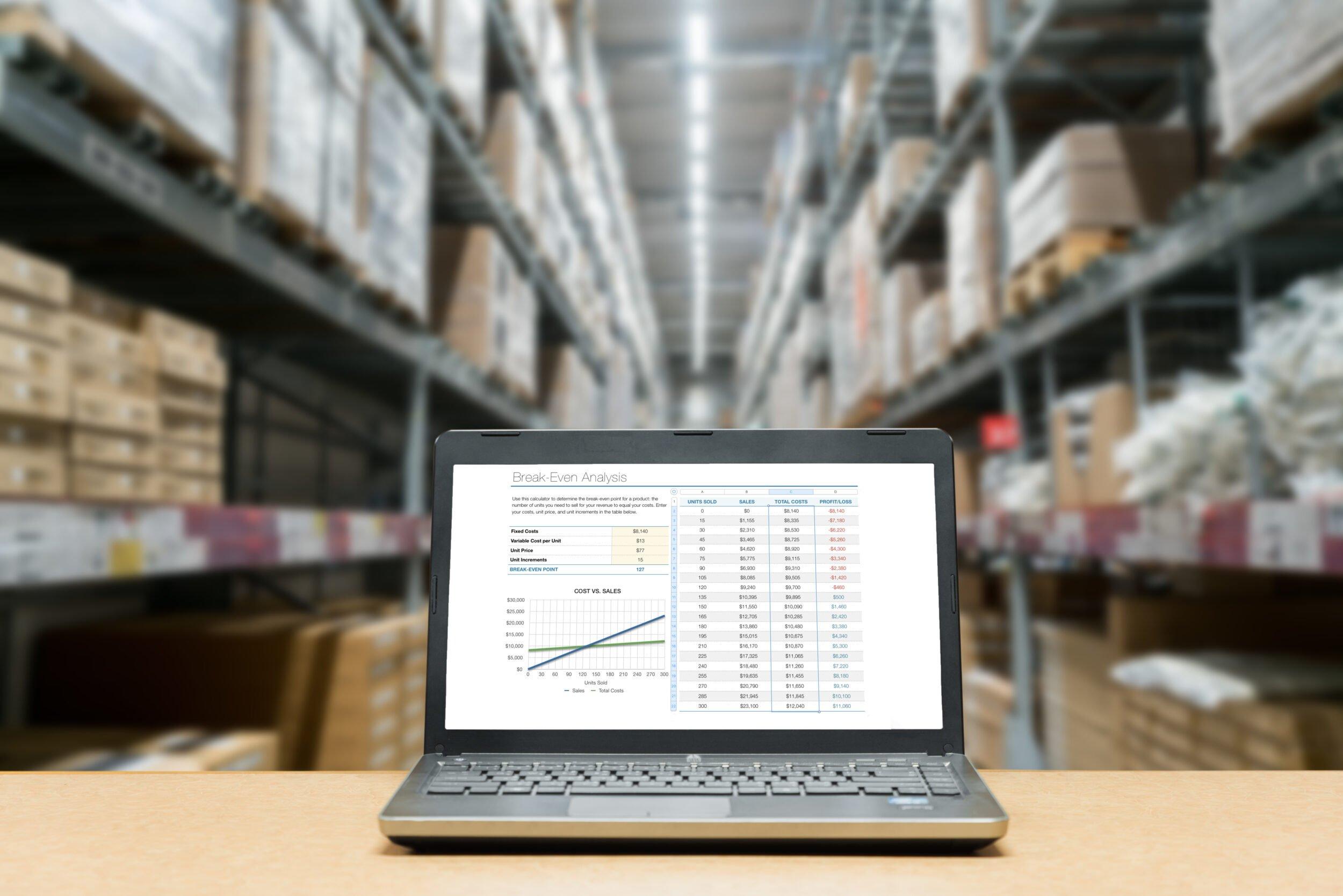 warehouse erp software